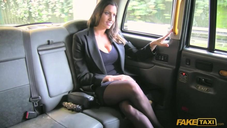 Sensual Jane Fake Taxi