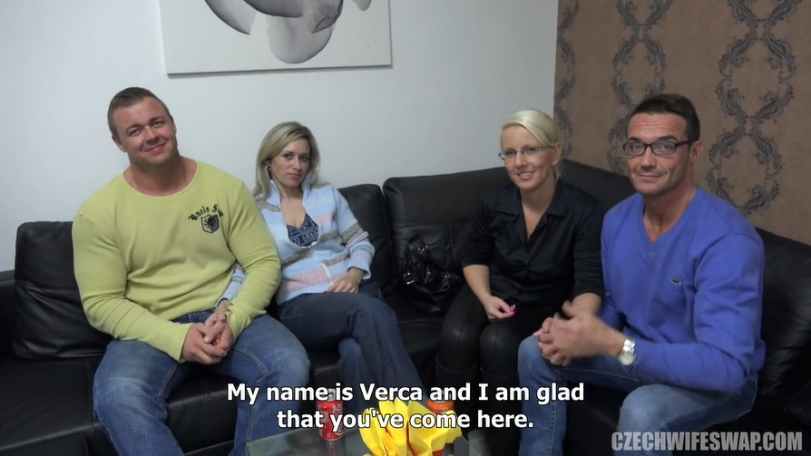 Czech wife swap last sex before meeting - 2 part 9