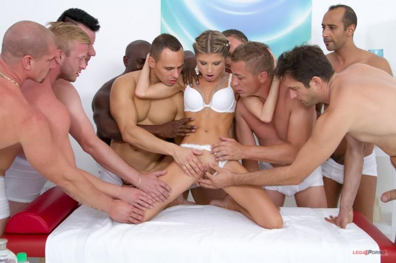 Десять человек порнуха