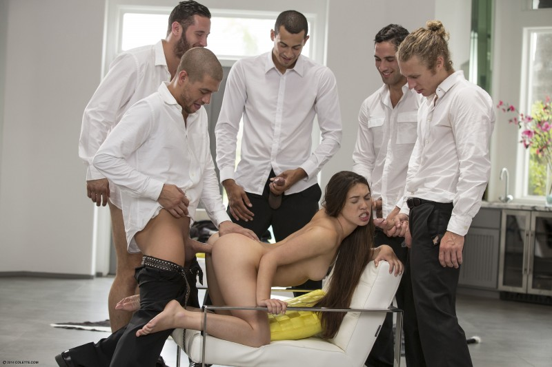And wet.....Lubed black gang bang kayla marie torrent babe, beautiful body
